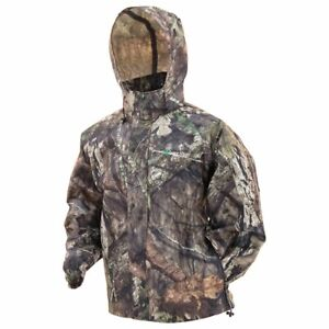 NEW FROGG TOGGS PRO ACTION JACKET MOSSY OAK COUNTRY MENS RAIN S 3XL WATERPROOF $37.99