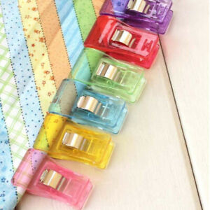 Multicolor Small Plastic Edging Clip Sewing Holder Sewing Positioning Clip US $3.89