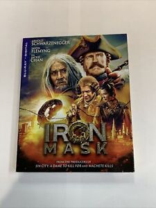IRON MASK New Sealed Blu ray Digital With Slip Cover $14.99