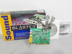CREATIVE Sound Blaster 16 PCI Sound Card PC Model SB4740 $49.99