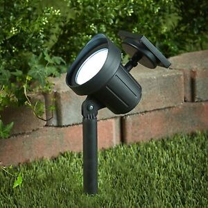 Large Outdoor Solar Spot Light Stake Outdoor Lighting Yard Accent $19.97