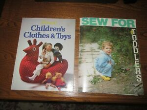 Kwik Sew's Sewing For Toddlers Kerstin Martensson amp; Children#x27;s Clothes amp; Toys $15.00