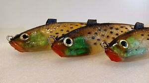 VINTAGE SOFT RUBBER GEL NEW NEVER USED FISHING LURES