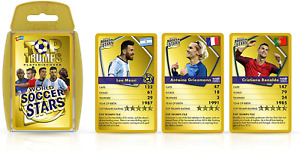 World Soccer Stars Top Trumps Card Game $13.39
