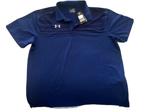 under armour golf polo shirt mens size 2xl loose $28.00