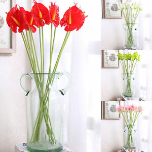 Artificial Flower Eco friendly Anti fade Wedding Fake Flower Bouquets for Home $6.97