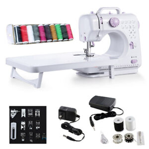Sewing Machine Portable Electric Crafting Mending Machine 12 Built In Stitches $44.59