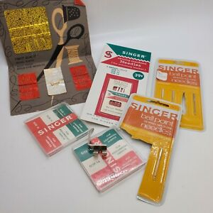 Lot Of Vintage Singer Needles In Packaging Size 11 15 16 Made in West Germany $6.99