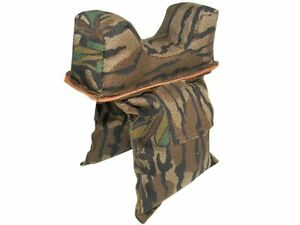 PETE RICKARDS NEW CAMO STRADDLE BAG GUN REST HUNTING BOX BLIND BAG MADE IN USA
