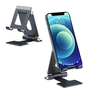 Mobile Phone Tablet Folding Stand Alloy Portable Notebook Riser Phone Holder US