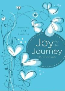 NEW Joy for the Journey Morning and Evening Devotional Book HC 2014 Gift $9.99