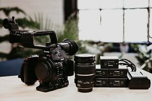 Canon C100 Mark II kit w Canon 17 55 2.8 IS and 5X BP 975 $2250.00