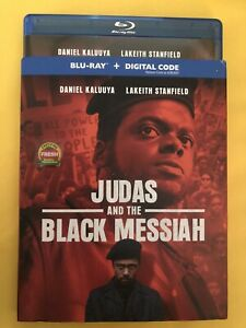 Judas And The Black Messiah Blu Ray With Slipcover. No Digital free shipping $11.99