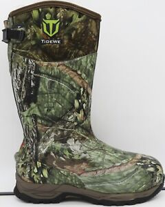 TIDEWE Men#x27;s 800g Waterproof Insulated Hunting Boots Multiple Colors Sizes