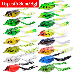 Best fishing frog lures all water fishing artificial minnow crankbait fish bait