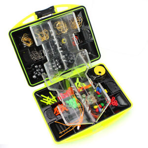 Rocky Fishing Line Set Small Outdoor Fishing Supplies Accessories with Box