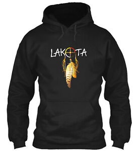 T Shirt Lakota Classic Pullover Hoodie Poly Cotton Blend By Johan Mary