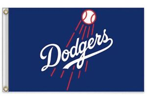 Los Angeles Dodgers LA 3x5 Ft Flag Baseball New In Packaging Kershaw Seager $12.99