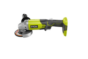 Cordless Angle Grinder Portable 4 1 2 in 18 Volt Lithium Ion Ryobi Power Tool $47.99
