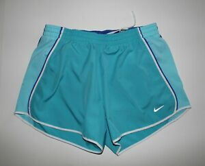 Nike Womens Dry Fit Shorts Size Medium Teal $25.00