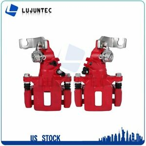 Rear Brake Calipers With Bracket For Honda Accord Coupe 03 07 1 Pair Left Right $86.75
