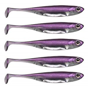 Paddle Tail Soft Lures Shad Lure Swimbaits Minnow Bait Paddle Tail Shad Bait for