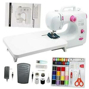 Mini Portable Sewing Machines16 Stitches 2 Speeds with Expansion TableSewing $119.26