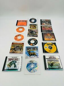 Lot Of 16 PC CD ROM Hunting Games Windows classic PC games
