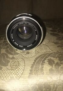CANON LENS FL 50mm F1.8 Made in Japan