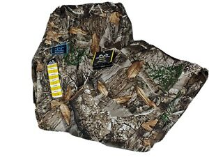 Men#x27;s Realtree Edge Scent Control Wind amp; Water proof Camo Hunting 2XL PANTS NWT