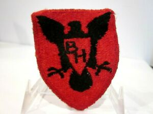 VTG WORLD WAR II US ARMY SSI PATCH 86TH INFANTRY DIVISION SNOW BACK CUT EDGE $17.99