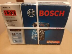 Bosch PS41 2A 12 Volt 1 4 Inch Max Lithium Ion Impact Driver Kit NEW $79.99