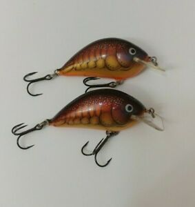 3 Bagley Square Bill Crankbait Fishing Lures Lot of 3