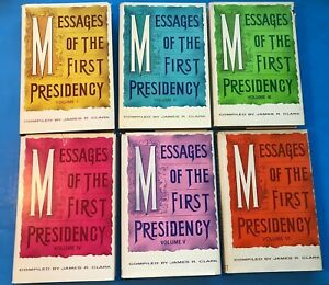 Messages of the First Presidency Vols 1 6 James Clark Mormon LDS Complete