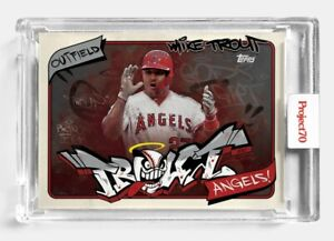 Topps PROJECT 70 Card 302 Mike Trout by SoleFly PRESALE