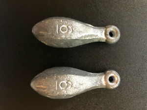 Saltwater Or Freshwater 6oz Bank Sinkers Fishing or Decoy Duck Weights