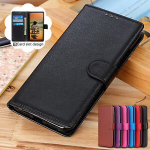 For iPhone 12 11 Pro Max XS XR X 8 7 6 Plus Leather Wallet Card Flip Case Cover $7.86