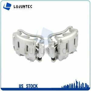 Front Brake Calipers With Bracket For 2005 2006 2007 2011 Ford F 250 Super Duty $163.48