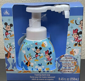 DISNEY PARKS MICKEY MOUSE SHAPED FOAMING SOAP DISPENSER $29.99