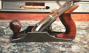 Stanley bedrock 603 smooth bottom plane with hook cutter quot;superb working planequot;