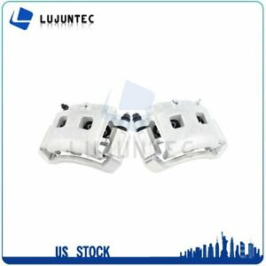 Front Brake Calipers With Bracket For Dodge Ram 1500 2002 2003 2004 2005 1 Pair $141.67