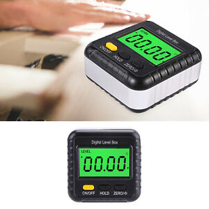 Portable LCD Display Protractor Inclinometer Angle Meter Digital Level Testing $14.17