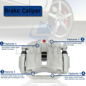 4x Front and Rear Brake Calipers Kit For 2008 2016 Dodge Grand Caravan $270.19