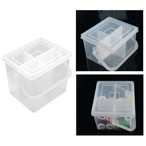 Portable Sewing Thread Storage Box Craft Case Sorting Crafting Embroidery $8.82