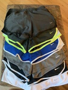 Girls Nike Dry Fit Shorts Size M. Excellent Lot Of 6 $50.00