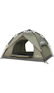 ROCKPALS Pop Up Tent Family Camping Tents Light Weight Portable Instant Set u...