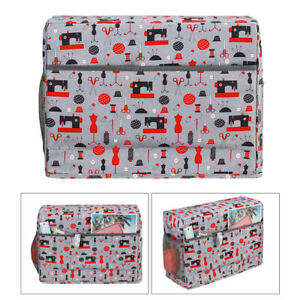 Universal Quilted Sewing Machine Cover Travel Carrying Organizer Case Bag $24.52