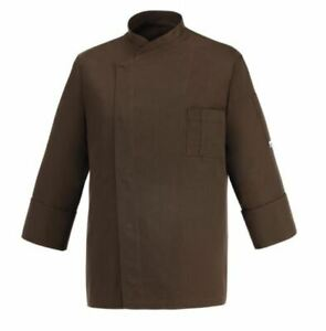 Chef Jacket Chef EGOCHEF Made IN Italy Brown Cheap Jacket Pastry Chef Chocolate