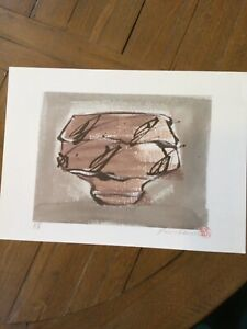 Phil Rogers Lithograph A P signed and stamped Tea bowl $120.00