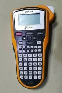 Brother P Touch Easy Hand Held Label Maker PT 6100 Orange And Black $19.99